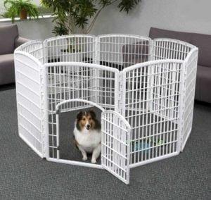 Best Dog Playpen By IRIS Exercise Panel