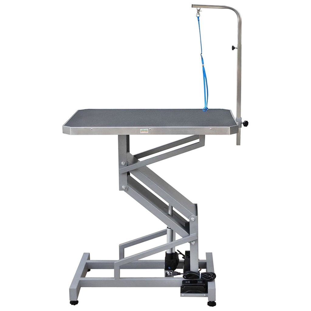 Electric Dog Grooming Table By Go Pet Club