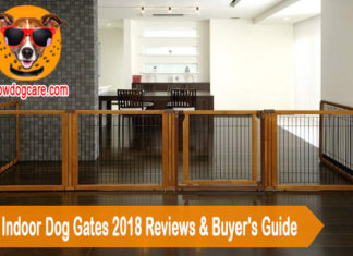 10 Best Indoor Dog Gates 2018 Reviews & Buyer's Guide