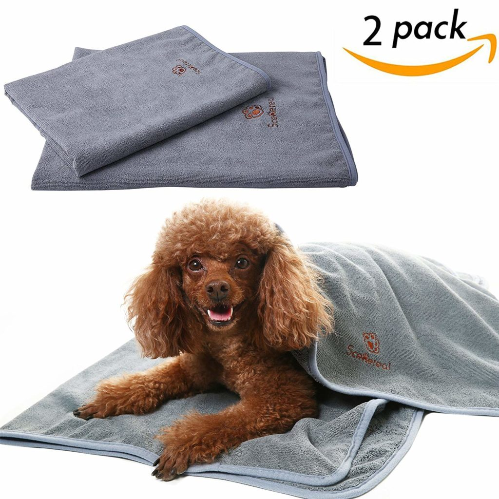 best dog towel for drying dogs by SCENEREAL