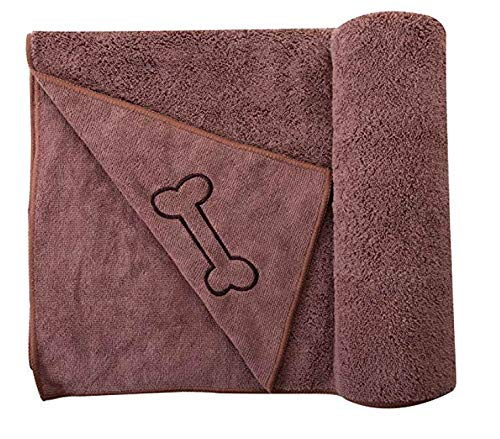 best dog towel for drying dogs by SOFTOWN