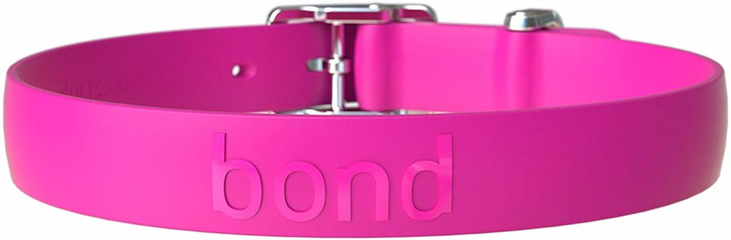 Waterproof Dog Collar From Bond Pet Products