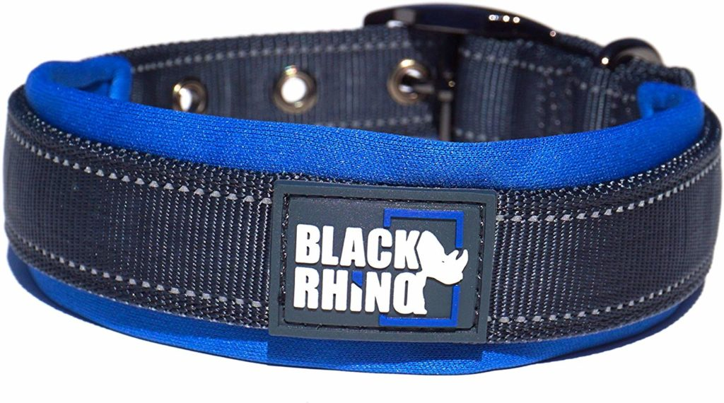 Weatherproof Dog Collar for All Breeds from Black Rhino